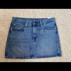 Levi's Denim Mini Skirt